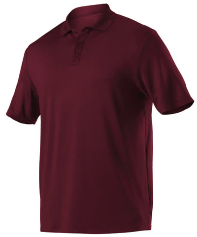 Alleson GPL5 Adult Gameday Polo - Maroon - Band, Bowling, Fanwear, Golf - Hit A Double