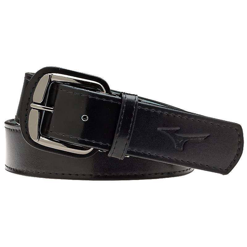 Mizuno Classic Leather Belt - Black - HIT A Double