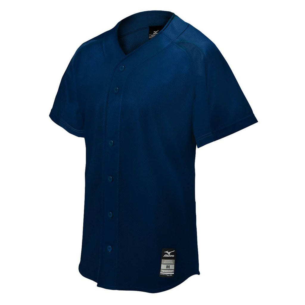 Mizuno Elite Mesh Game Jersey - Navy - HIT A Double