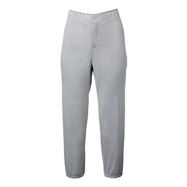 Mizuno Girls Padded Unbelted Pant - Gray
