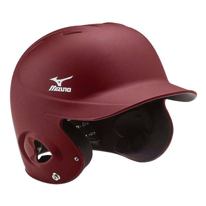 Mizuno MBH200 MVP G2 Fitted Batter's Helmet - Cardinal - HIT A Double