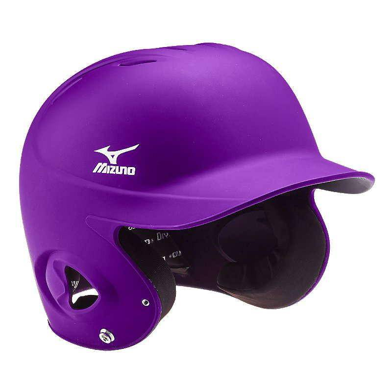 Mizuno MBH200 MVP G2 Fitted Batter's Helmet - Purple - HIT A Double