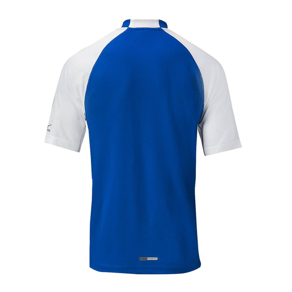 Mizuno Pro 2-Button Jersey - Royal White - HIT A Double