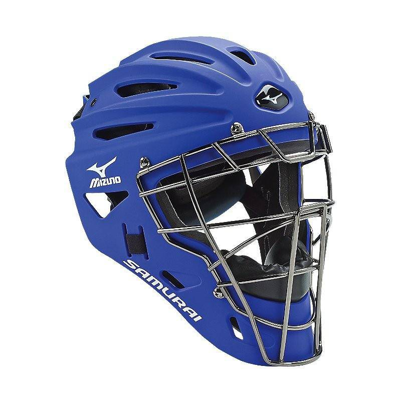 Mizuno Samurai Catcher's Helmet G4 Royal - 380191