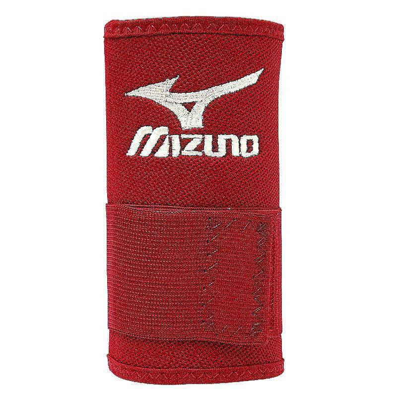 "Mizuno Wristbands 5"" PowerLock Red - 370136 - HIT A Double"