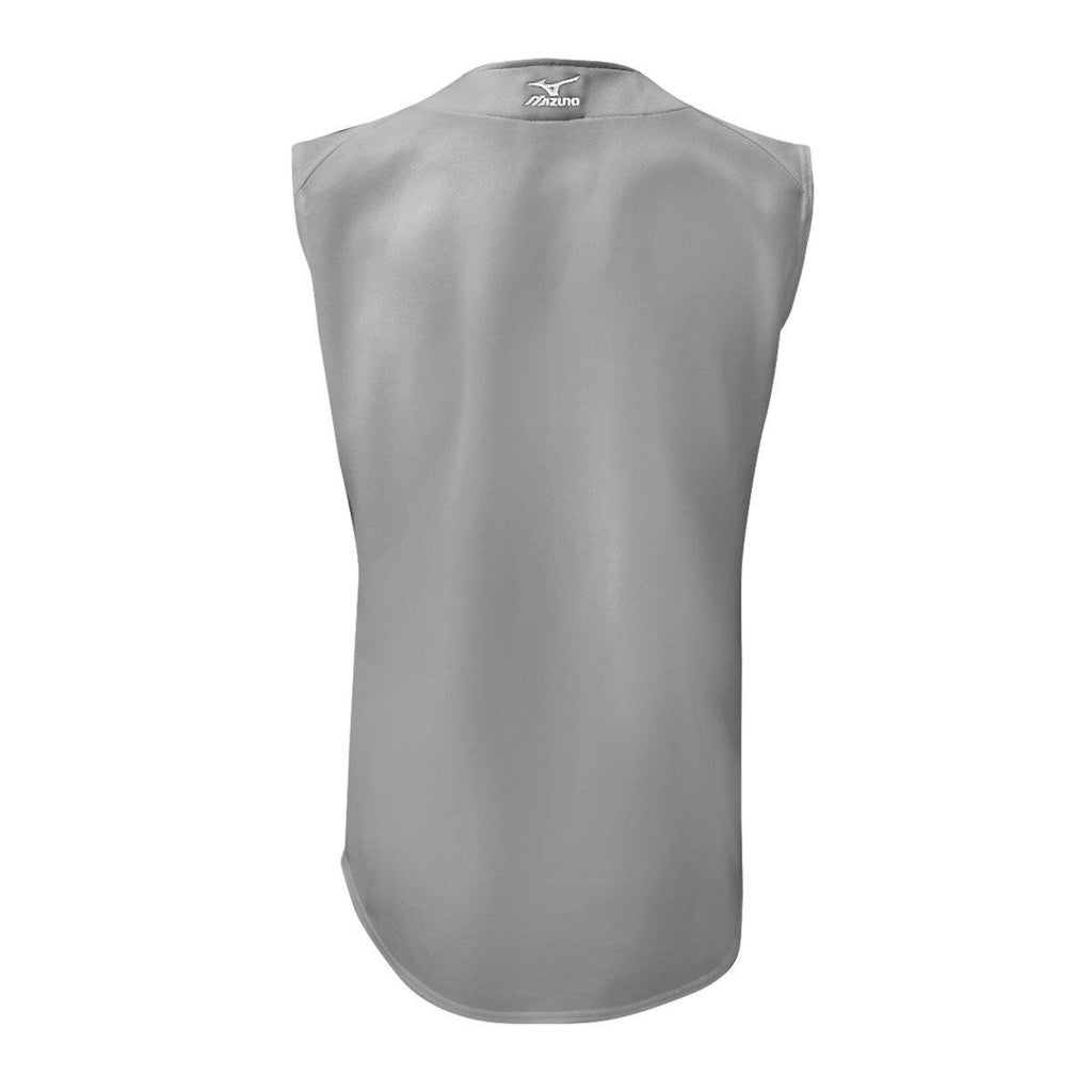 Mizuno Youth Comp Game Jersey Sleeveles - Gray - HIT A Double