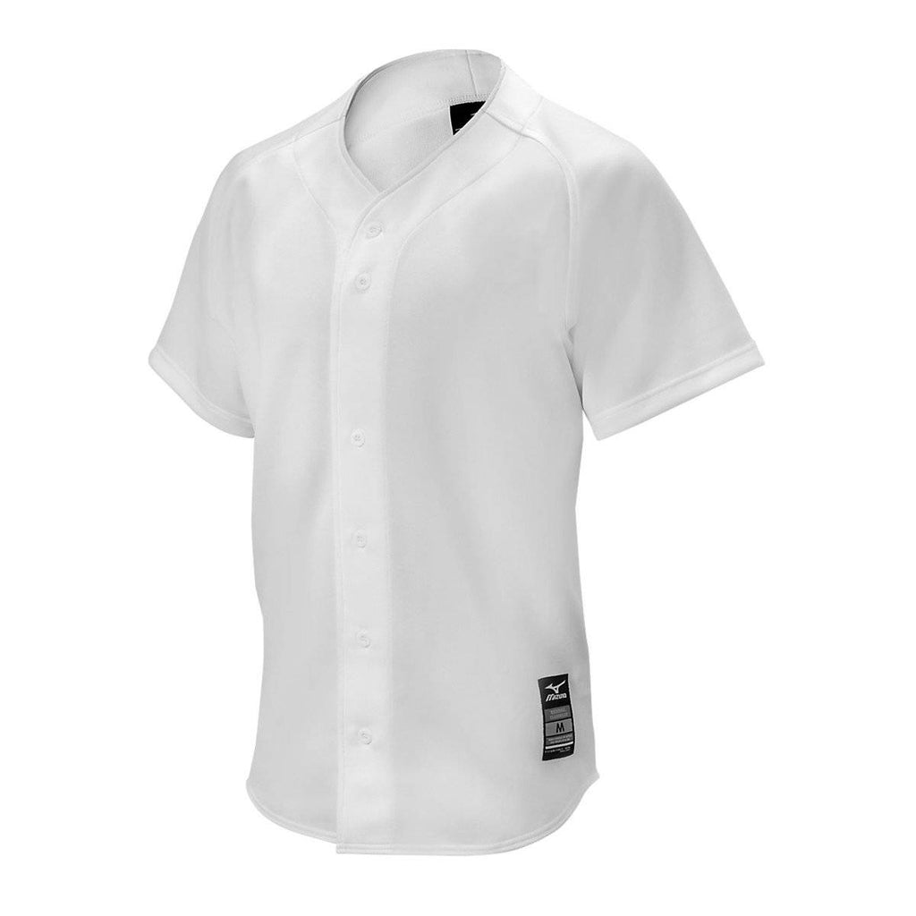 Mizuno Youth Comp Game Jersey - White - HIT A Double