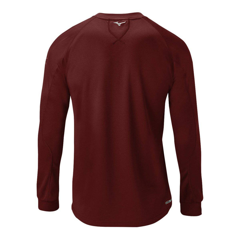 Mizuno Youth Comp Training Top - Cardinal - HIT A Double