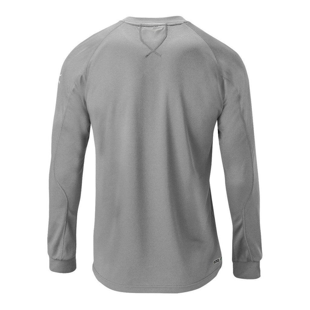 Mizuno Youth Comp Training Top - Gray - HIT A Double