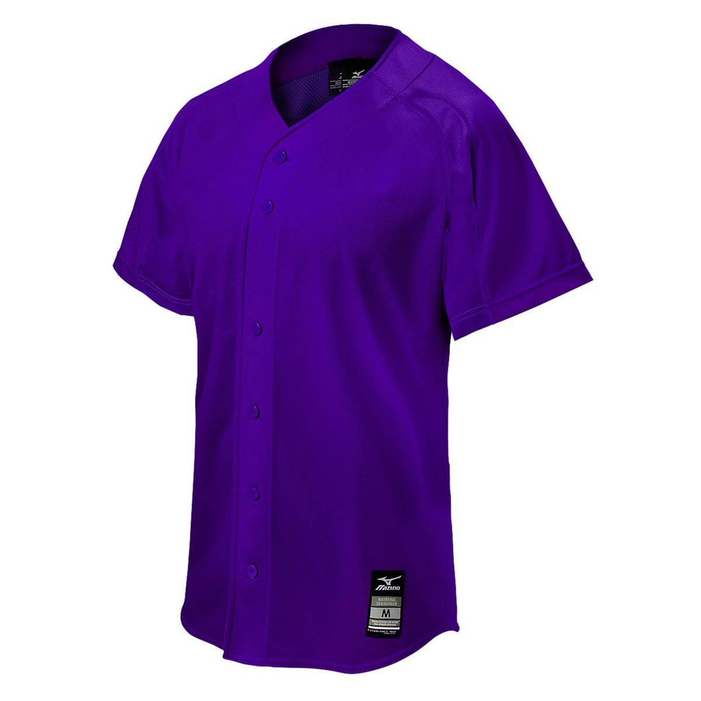 Mizuno Youth Elite Mesh Game Jersey - Purple - HIT A Double