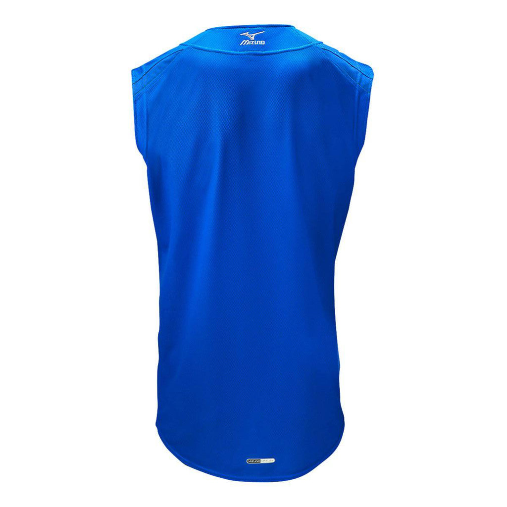 Mizuno Youth Elite Mesh Game Jersey Sleevless - Royal - HIT A Double