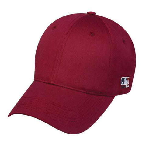 OC Sports MLB-801 Adjustable Cap - Cardinal