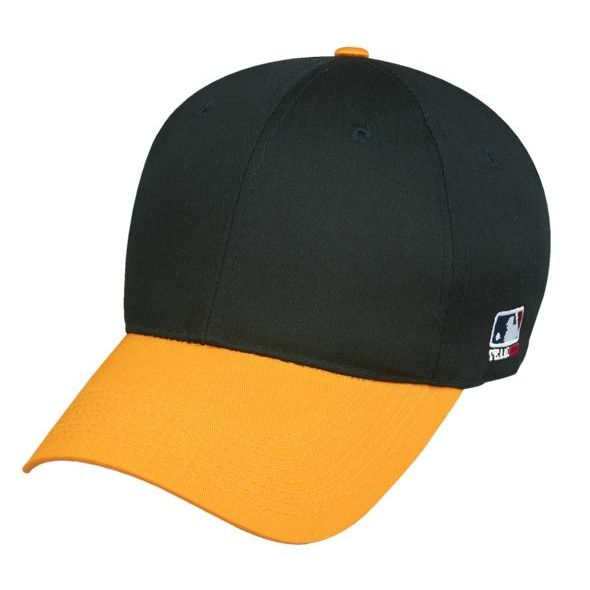 OC Sports MLB-801 Adjustable Cap - Black Gold