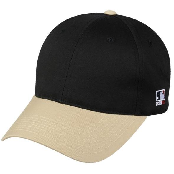 OC Sports MLB-801 Adjustable Cap - Black Vegas Gold