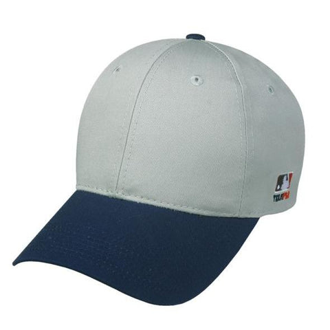 OC Sports MLB-801 Adjustable Cap - Light Grey Navy