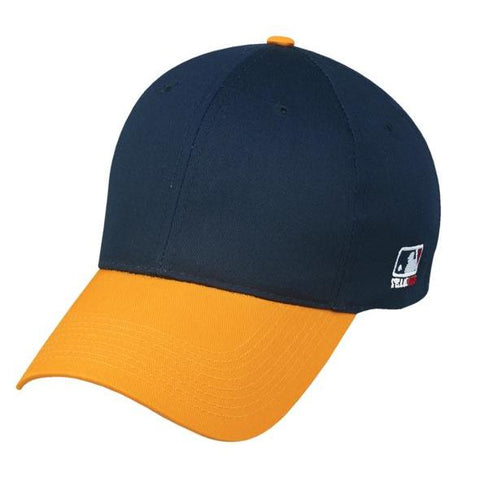 OC Sports MLB-801 Adjustable Cap - Navy Gold