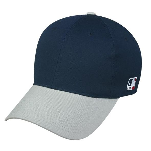 OC Sports MLB-801 Adjustable Cap - Navy Light Grey