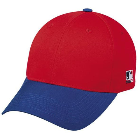 OC Sports MLB-801 Adjustable Cap - Red Royal