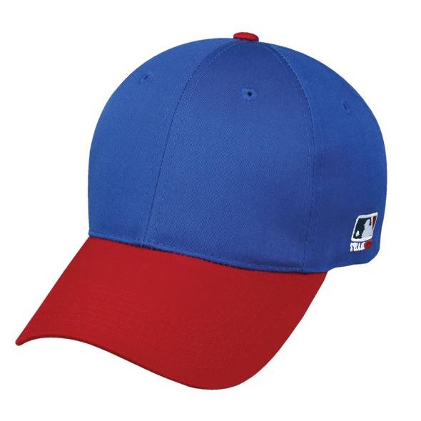 OC Sports MLB-801 Adjustable Cap - Royal Red