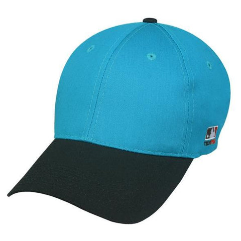 OC Sports MLB-801 Adjustable Cap - Teal Black
