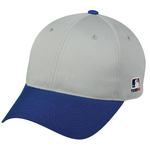 OC Sports MLB-801 Adjustable Cap - Light Grey Royal