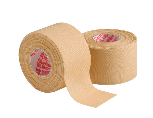 "Mueller Mtape 1.5"" x 10 yds Beige - 2 pk value - Baseball Accessories, Softball Accessories - Hit A Double"