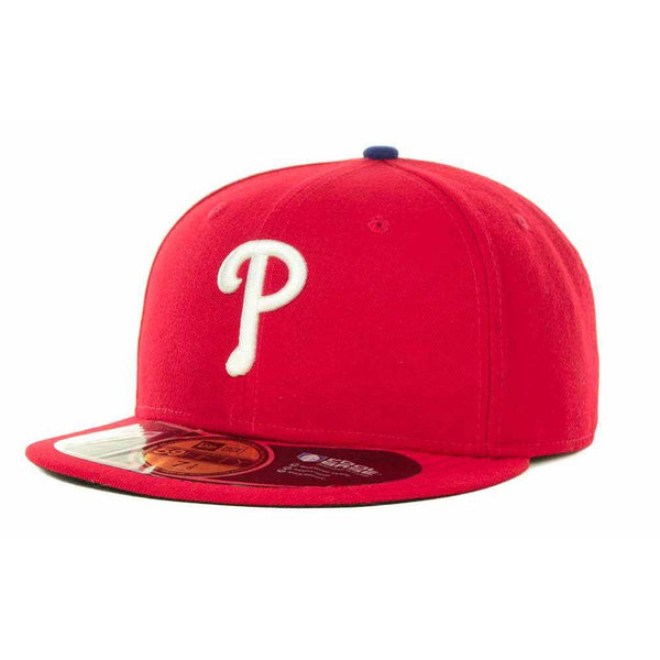 New Era MLB Authentic Cap Philadelphia Phillies On-Field Game Red - HIT A Double