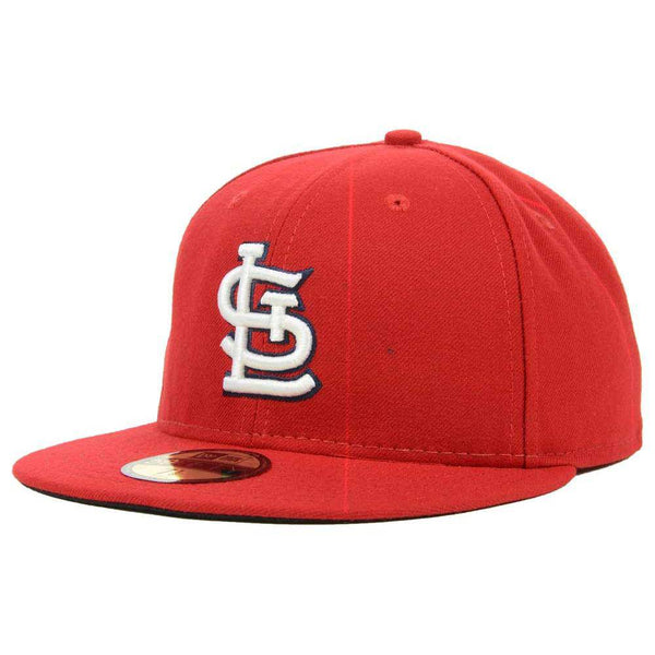 New Era MLB Authentic Cap St. Louis Cardinals On-Field Game Red - HIT A Double