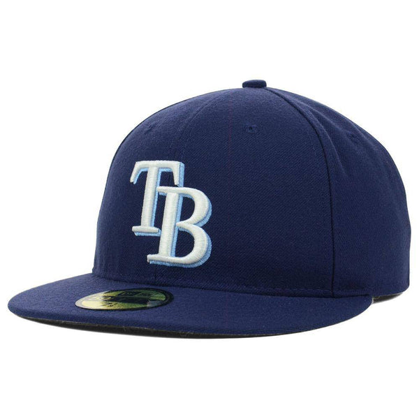 New Era MLB Authentic Cap Tampa Bay Rays On-Field Game Light Navy - HIT A Double