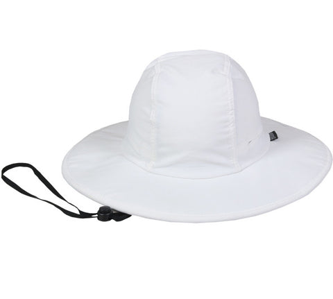 OC Sports CSB-100 Adjustable Cinching Cord Casual Hat - White - Baseball Apparel, Softball Apparel, Basketball, Football, Lacross/Field Hockey, Soccer, Training/Running, Volleyball - Hit A Double