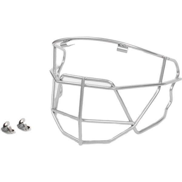 Under Armour Baseball/Softball Facemask - Silver - Baseball Accessories - Hit A Double