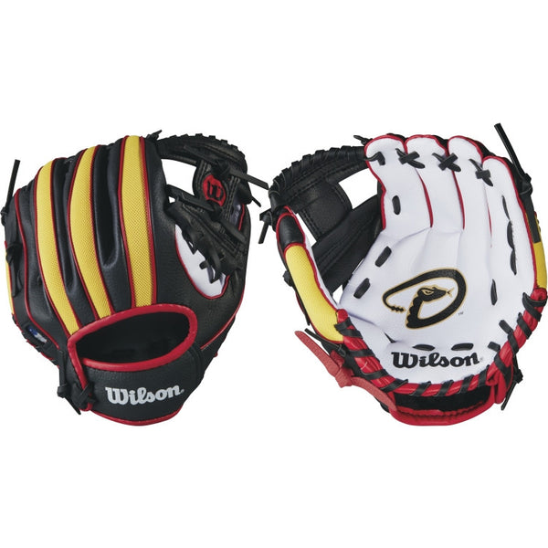 "Wilson A200 Diamondbacks 10.00"" T-Ball Glove WTA02RB16ARI"