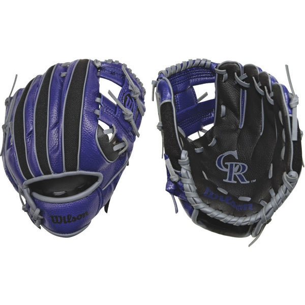 "Wilson A200 Rockies 10.00"" T-Ball Glove WTA02RB16COL"
