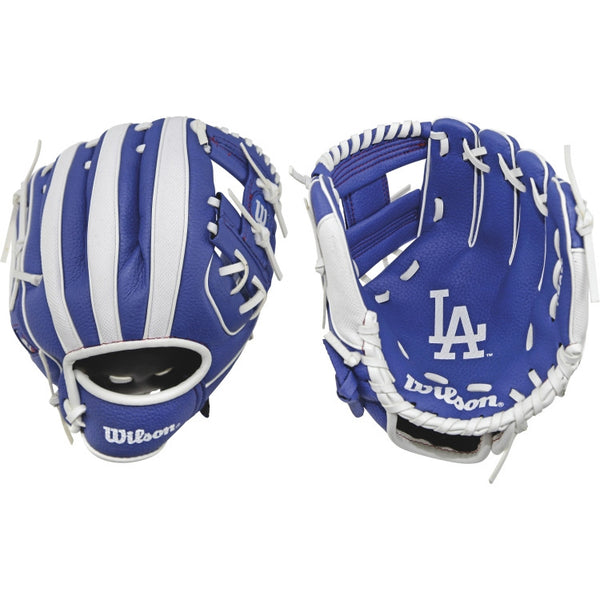 "Wilson A200 Dodgers 10.00"" T-Ball Glove WTA02RB16LAD"