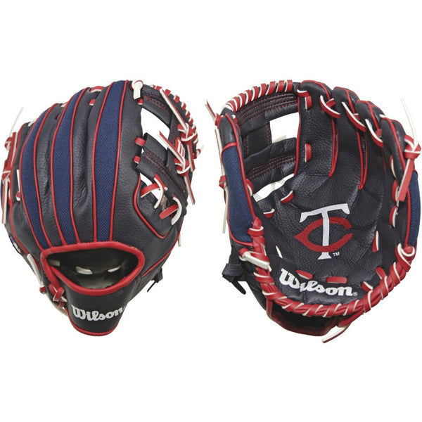 "Wilson A200 Twins 10.00"" T-Ball Glove WTA02RB16MIN"