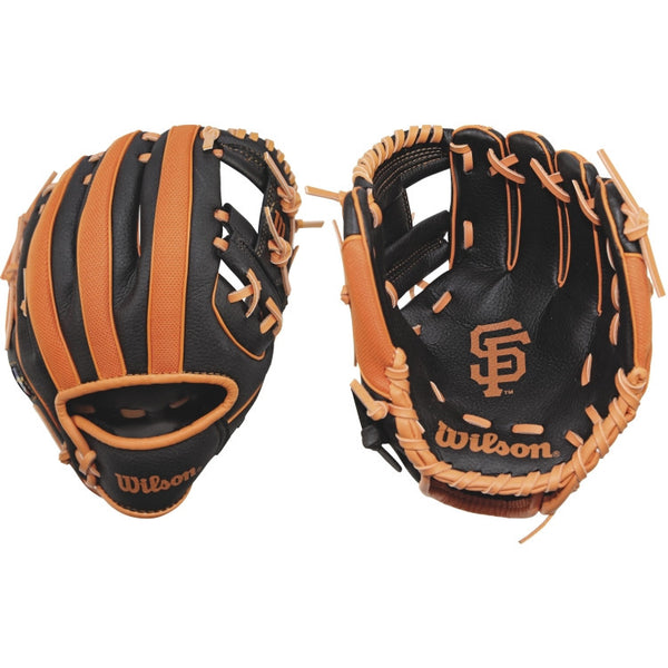 "Wilson A200 Giants 10.00"" T-Ball Glove WTA02RB16SF"