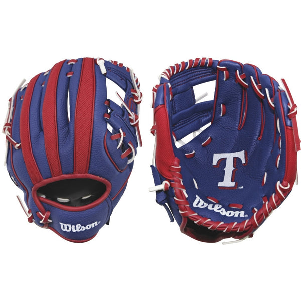 "Wilson A200 Rangers 10.00"" T-Ball Glove WTA02RB16TEX"