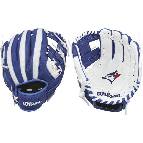 "Wilson A200 Blue Jays 10.00"" T-Ball Glove WTA02RB16TOR"