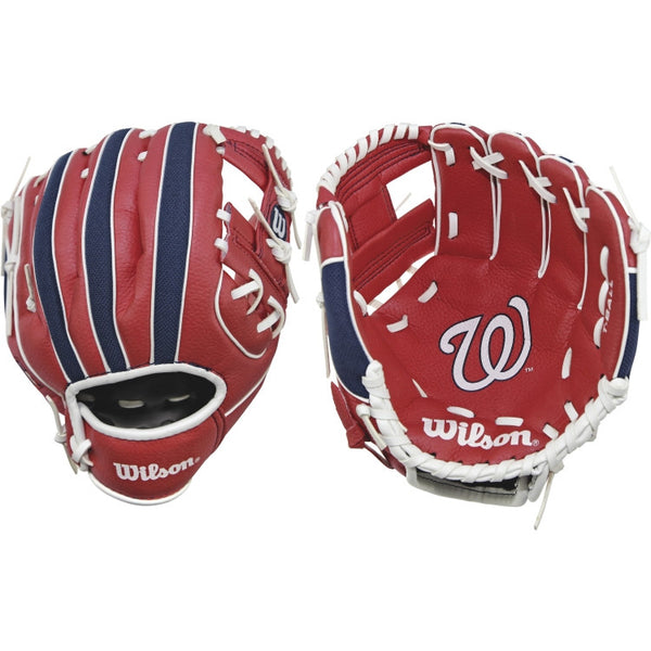 "Wilson A200 Nationals 10.00"" T-Ball Glove WTA02RB16WAS"