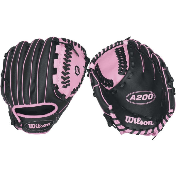 "Wilson A200 Girls 10.00"" T-Ball Glove WTA0200TBGIRL"