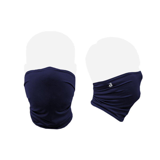 Badger 1900 Performance Face Shield - Navy - HIT A Double