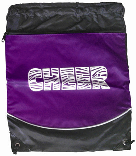 "Pizzazz ""Cheer"" Deluxe Stringpack - Purple"