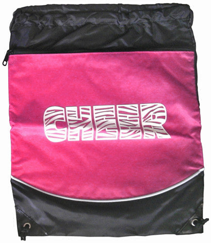 "Pizzazz ""Cheer"" Deluxe Stringpack - Hot Pink"