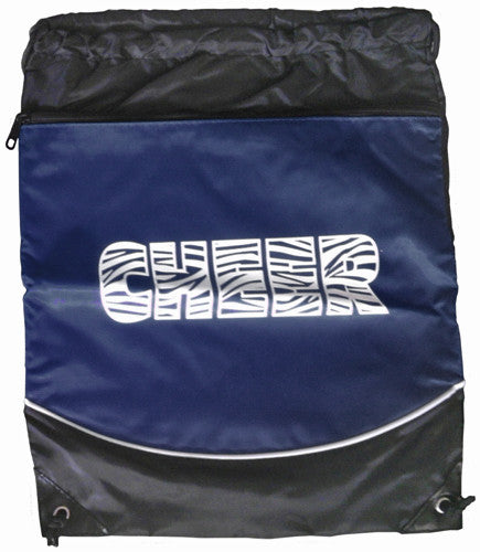 "Pizzazz ""Cheer"" Deluxe Stringpack - Navy"