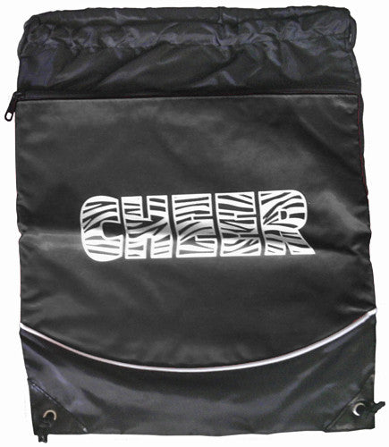 "Pizzazz ""Cheer"" Deluxe Stringpack - Black"