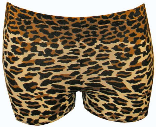 Pizzazz Animal Print Boys Cut Briefs - Leopard