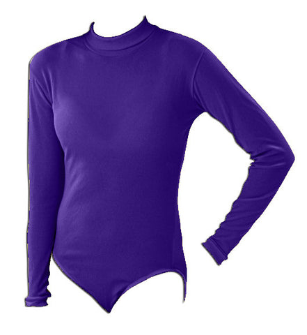 Pizzazz Body Basics Bodysuits - Purple