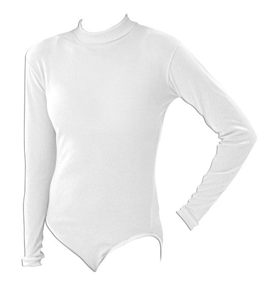 Pizzazz Body Basics Bodysuits - White