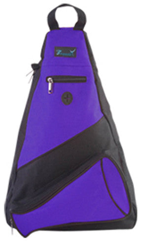 Pizzazz Custom Megaphone Slingpacks - Purple - HIT A Double