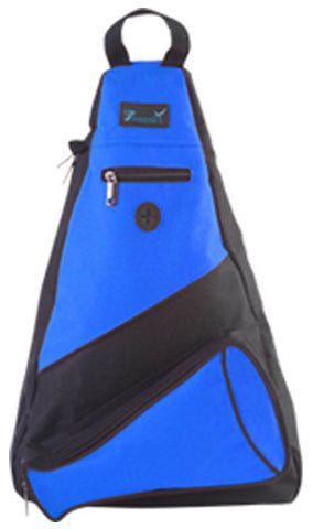 Pizzazz Custom Megaphone Slingpacks - Royal - HIT A Double